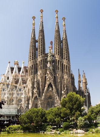 Kirche Sagrada Familia in Barcelona - Spanien