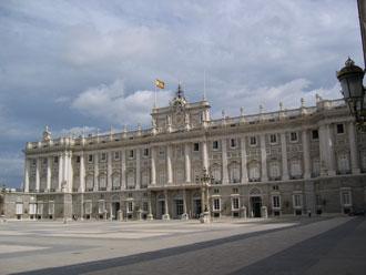 Der Königspalast in Madrid - Spanien
